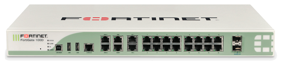 fortinet fortigate 100D