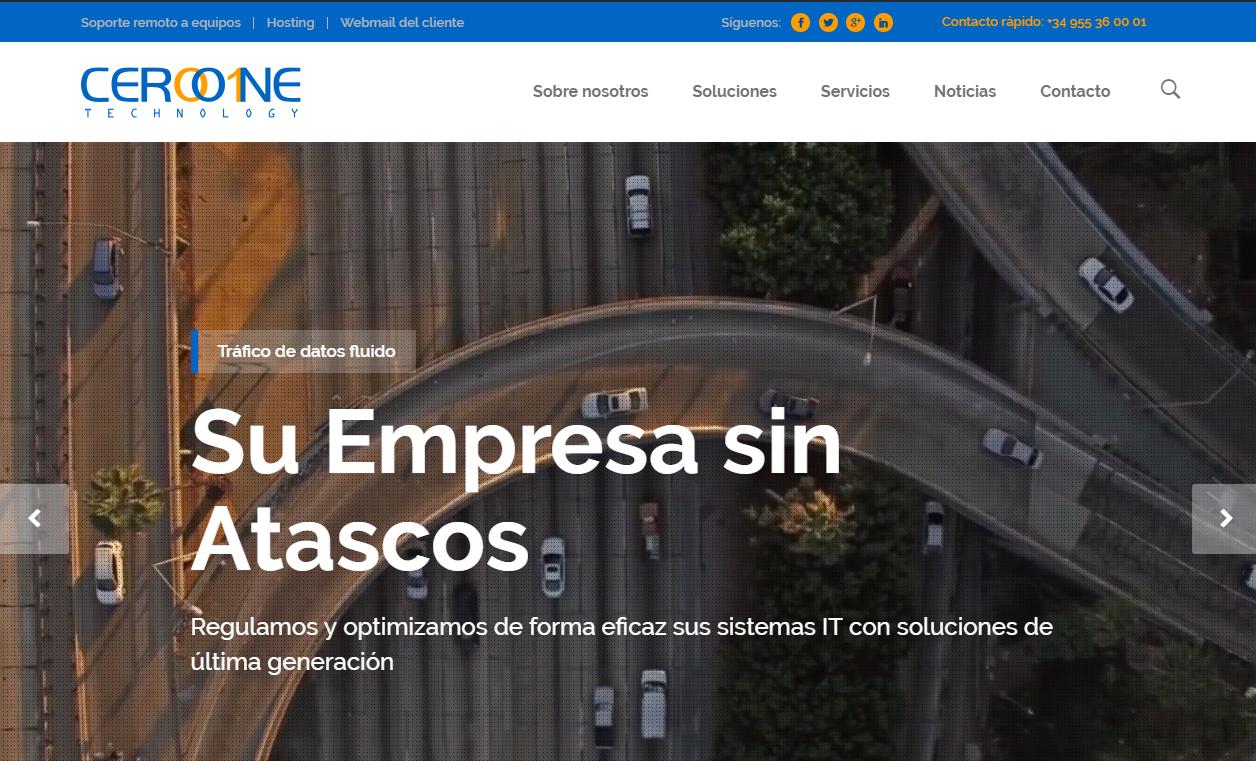 nueva web ceroone